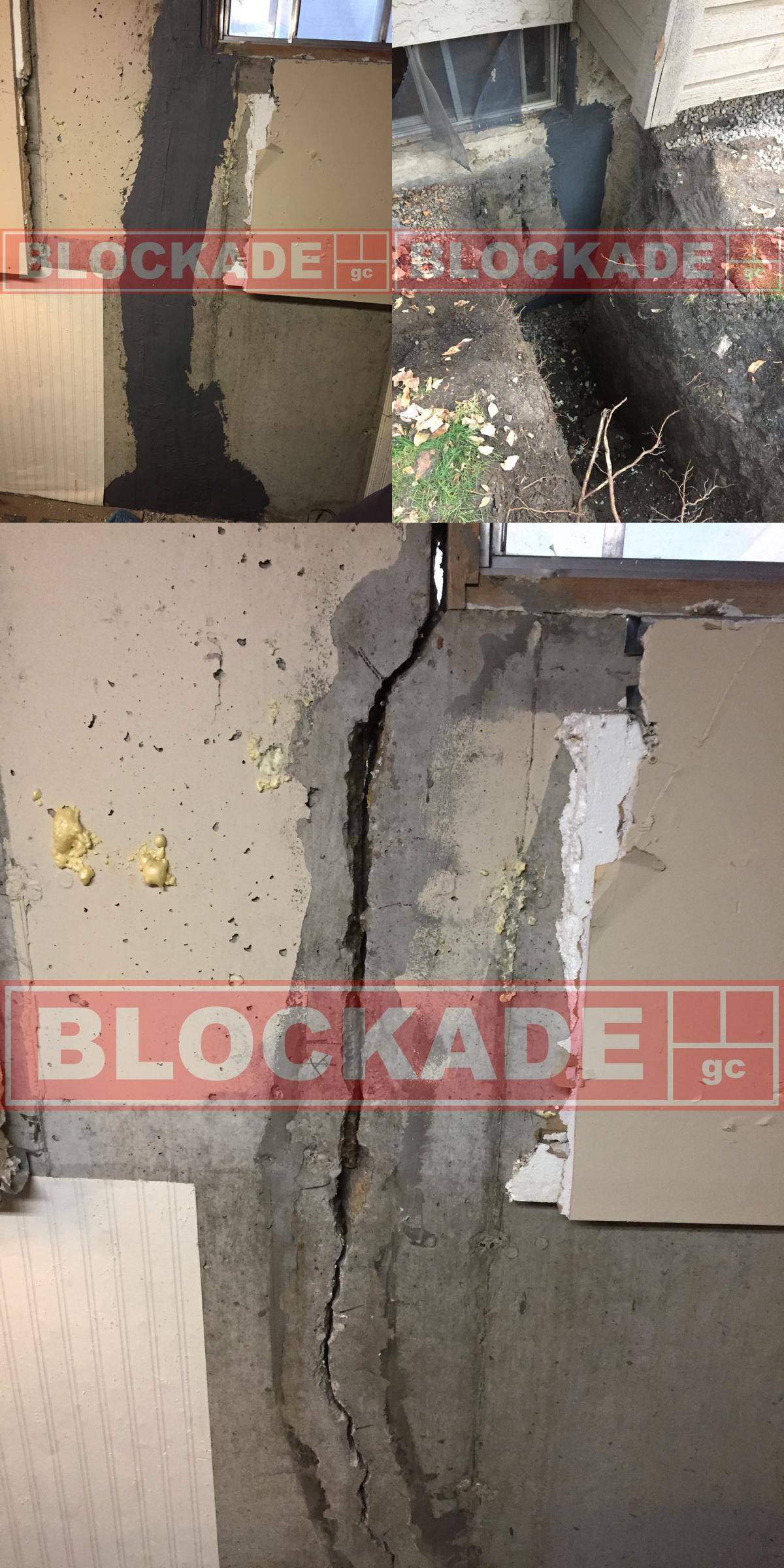 foundation crack repair edmonton